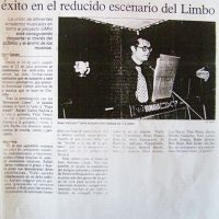 Juan Antonio Canta Proyecto Limbo